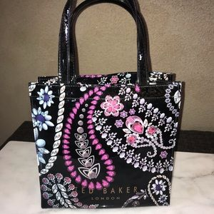 Ted Baker London Bags - NWOT Ted Baker London Beautiful Blk w/jewels Bag